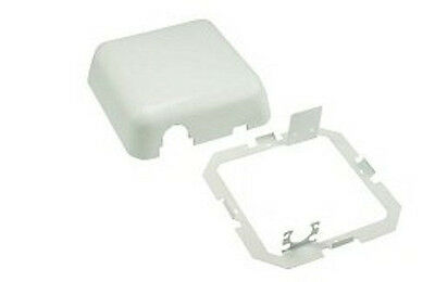 DCI White Frame & Cover ONLY for Dental Delivery Junction Box Utility Center