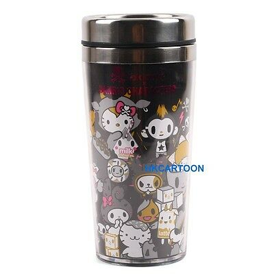 Sanrio Kitty X Tokidoki Mx 450 Ml Bpa Free Stainless Steel Mug 155315