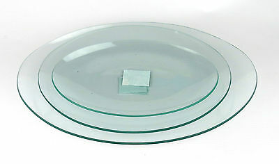 Glass Bowl Candle Holder Oval for Glass Painting, Decoupage and Mosaics