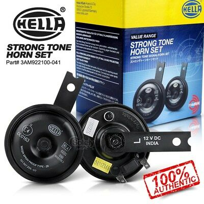 New & Genuine HELLA 12V Strong Tone Horn Set for Car Ute 4x4 4WD