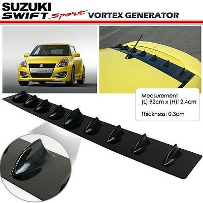 New JDM Suzuki Swift (All Generation) Glossy Black Vortex Generator Spoiler