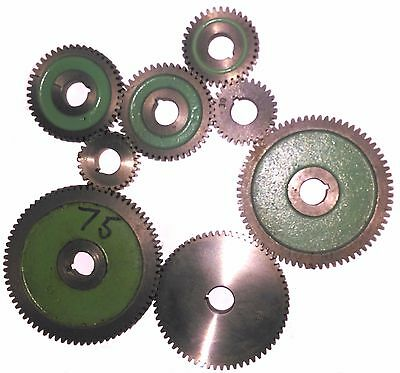 ASSORTED USED MYFORD CHANGEWHEELS GEARS FOR ML7 / SUPER 7 Direct From Myford Ltd
