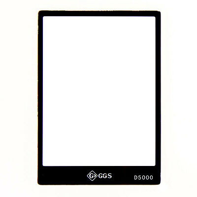 GGS LCD Glass Screen Protector for Nikon D5000 DSLR
