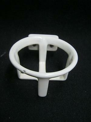 Vintage Bathroom Cup Tumbler Holder Cast Iron Porcelain Old Kitchen #2645-13