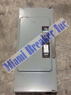 Siemens I-T-E Enclosed Switch JU-324 200A 240V