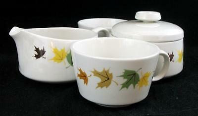 Franciscan INDIAN SUMMER Creamer Sugar bowl 2 Cups LIGHT USE Sugar bowl as is