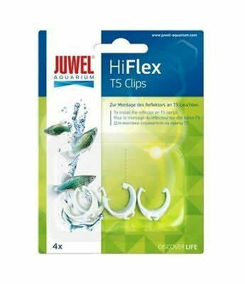 Juwel Aquarium Hiflex T5 Clips For Hi Flex Reflectors High Lite Unit Fish Tank