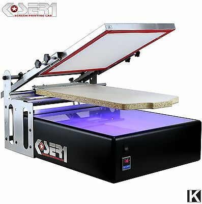 Screen Printing Machine with Exposure UV | All in one Printer Kit Silkscreen