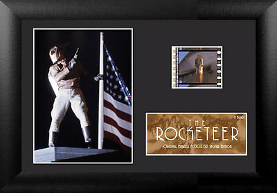 Film Cell Genuine 35mm Framed & Matted The Rocketeer Special Edition USFC5302