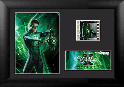 Film Cell Genuine 35mm Framed & Matted Green Lantern Special Edition USFC5547