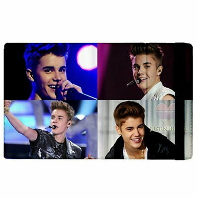 Love Justin Bieber Singing Photos Flip Case Stand Cover for iPad 3/4 & iPad 2