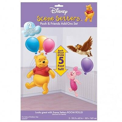 Disney Winnie the Pooh And Piglet Scene Setter Add on Birthday Party Decoration
