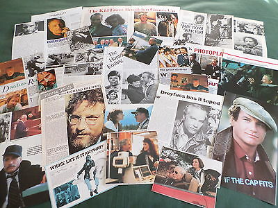 Richard Dreyfuss  - Film Star- Clippings-Cuttings Pack