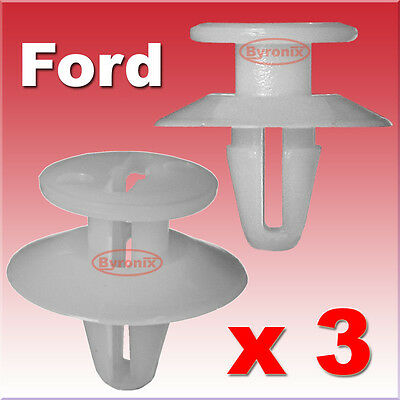 Ford Fiesta Mk5 Wing Mirror Trim Clips Triangle Door Cover Trim Interior
