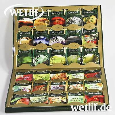 Tee Collection  Greenfield Premium 30 Sorten 120 Beutel Neu
