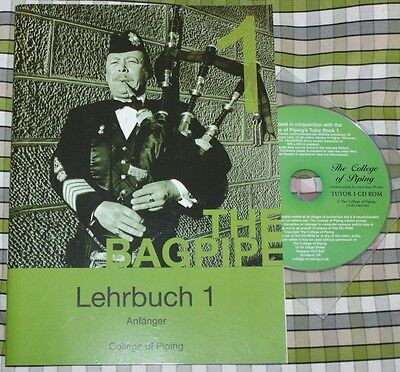 Learn to play Bagpipes Highland pipes Tutor Book volume 1