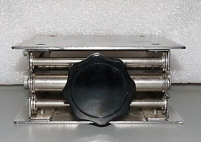 """Stainless Steel Laboratory Lab Jack 6"""" X 6"""" Platform 10"""" Height Extended"""