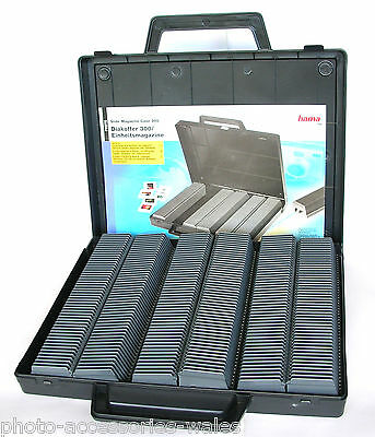 Hama 6X50 Universal Slide Storage Magazines In Briefcase Style Box 1090