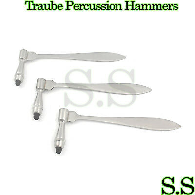 3 Pieces Traube Percussion Hammers (Reflex Hammer)
