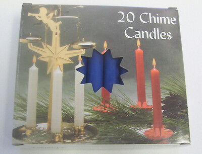 """Chime Spell Candles: Dark Blue, Mini 4"""" Box of 20 (NEW) Pagan, Wicca, Altar"""
