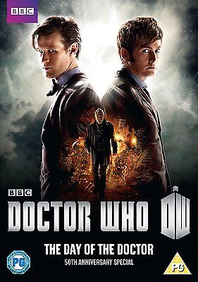 Doctor Who: The Day of the Doctor DVD 50th Anniversary Special New & Sealed R4