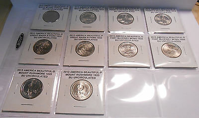 Build Your Own Album America The Beautiful 2013 All 10 Coins