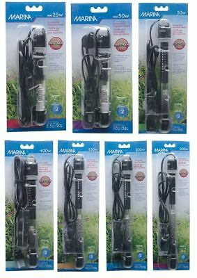 Hagen Fluval Marina Submersible Heater Fish Tank Aquarium Tropical Marine Heat