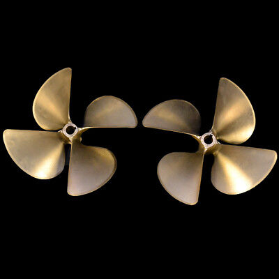 Acme Nibral 24 Inch Diameter x 30 Pitch 4 Blade Boat Propellers (Set of 2)