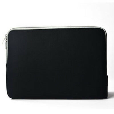 "BLACK Zipper Sleeve Bag Case Cover for All Laptop 13"" Macbook / Pro / Air"