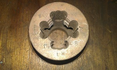 "Whitworth BSW 1"" x 8 tpi LH left hand OD 2 3/16"" (55mm)elastic die button+ guide"