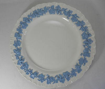 Wedgwood Queensware Lavender on Cream - Shell Edge Dinner Plate