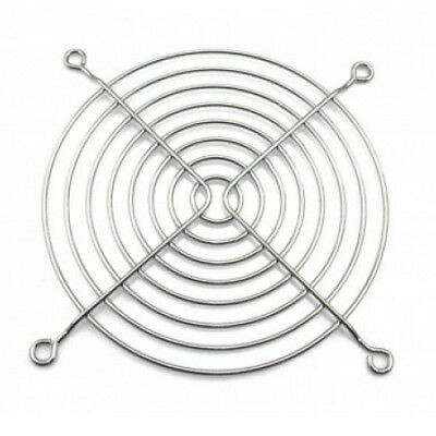 120mm Standard Wire Case Fan Guard Grill - Chrome