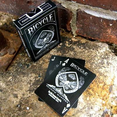 Bicycle Shadow Masters Edition US Playing Cards Magic BRAND NEW SEALED