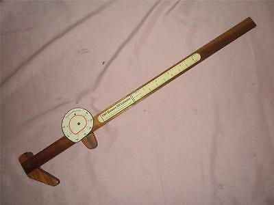 SUPERB ANTIQUE DISTANCE TIDAL MEASURE by (Michael Reeve-Fowkes)