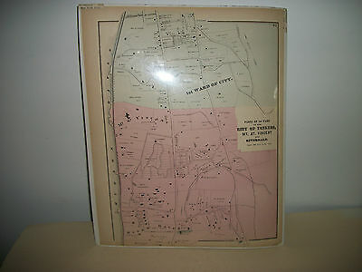Original 1872 Map - Yonkers, New York from Beers County Atlas of Westchester p25