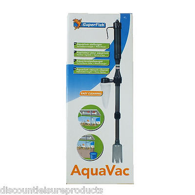 Superfish Aquavac Aquarium Fish Tank Gravel Vacuum Cleaner Aqua Vac