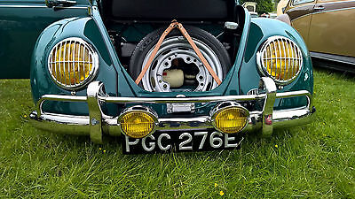 VW Beetle Headlight Grilles Porsche 356 Splitscreen STAINLESS grills AAC001