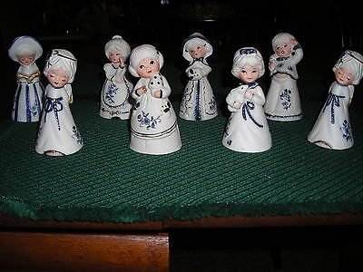 ROYAL MAJESTIC BY JASCO HAND PAINTED  BISQUE PORCELAIN COLLECTOR QUALITY BELLS