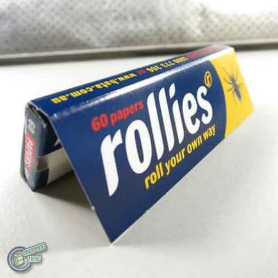 20x 60 ROLLIES Paper Tobacco Cigarette Rolling Roller Filter Filters Papers Air