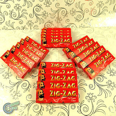 20x 60 ZIG ZAG CLASSIC Cigarette Tobacco Rolling Roller Filter Paper Papers