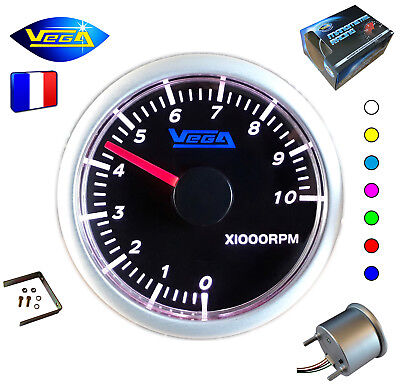 ► Compte-tours Vega® 7 couleurs tactile 3 4 5 6 8 cylindres 0-10000 trs/min ◄