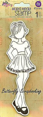 Hunter Doll Stamp Cling Unmounted Rubber Stamp PRIMA MARKETING INC #910952 New