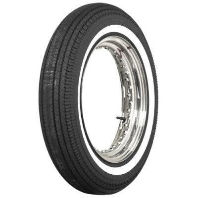 """500-16 Coker 1"""" Whitewall Motorcycle Tire (130/90-16+140/90-16 Equiv)"""