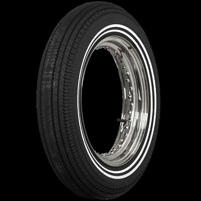 "500-16 S Coker 3/8""+3/8""Dbl Whitewall Cycle Tire 130/90-16 Eqv"