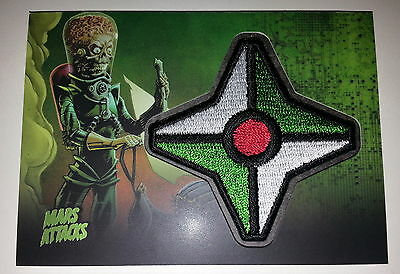 Mars Attacks Invasion Heritage Topps Patch Card #mp-7 Rare/sp