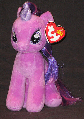 TY MY LITTLE PONY TWILIGHT SPARKLE BEANIE BABY - MINT with MINT TAGS