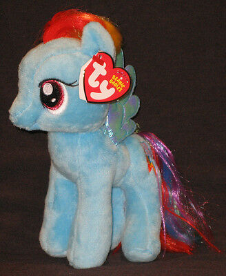 TY MY LITTLE PONY RAINBOW DASH BEANIE BABY - MINT with MINT TAGS