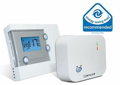 Salus RT500RF Wireless Programmable Thermostat Electronic RF Heating Control