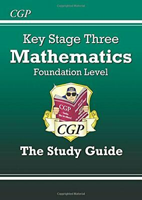 KS3 Maths Study Guide - Foundation (CGP KS3 Mat... by Parsons, Richard Paperback