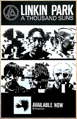 LINKIN PARK A Thousand Suns Ltd Ed New Discontinued Poster +FREE Rock Poster!